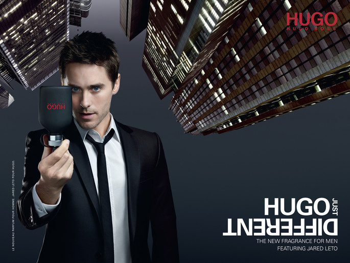 Jared Leto for HUGO Just Different. 07.15.11