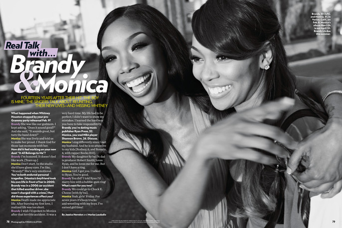 Tracey Mattingly - News - Brandy and Monica in People Magazine