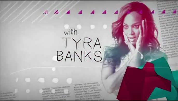 - Tyra Banks in Nylon Magazine