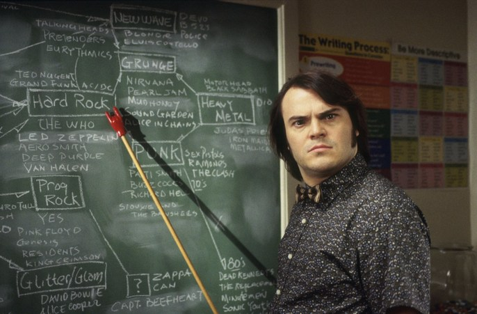 - School of Rock | Request for Jack Black | Directed by Richard Linklater