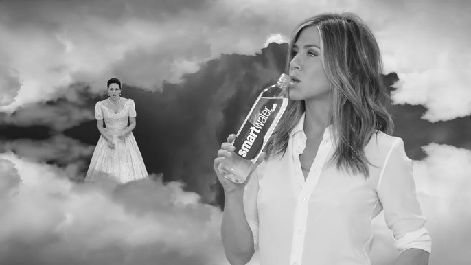 - Jennifer Aniston for SmartWater