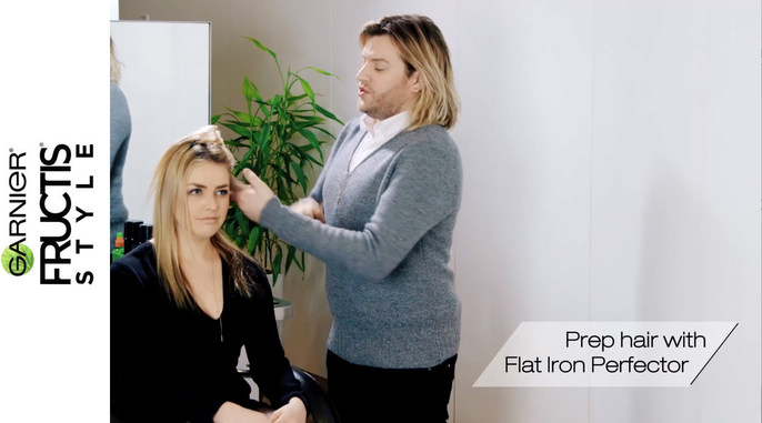 - Garnier Fructis | Create WAVES With a Flatiron