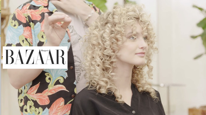 - Harper's Bazaar | Three Ways to Style A Perm