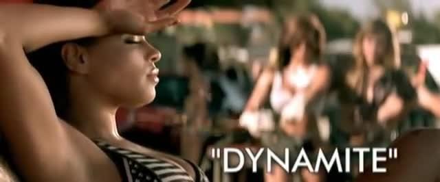 - Taio Cruz | Dynamite | Directed by Alex Herron